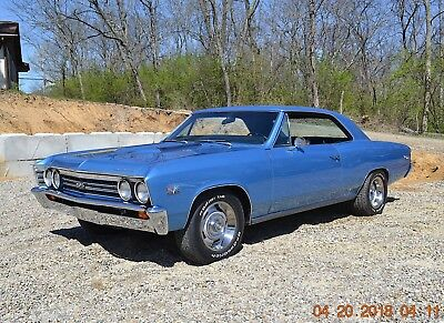 1967 Chevrolet Chevelle 138 SUPER SPORT 396 4SPD 12 BOLT 1967 CHEVELLE SS 396 4SPD REAL SS SOLID STRAIGHT BEAUTIFUL MARINA BLUE VERY NICE