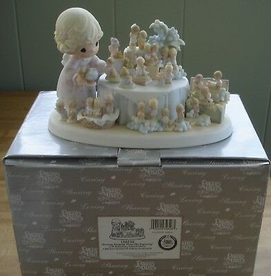 Precious Moments From the Beginning Figurine w/Box #110238 - 25th Anniversary