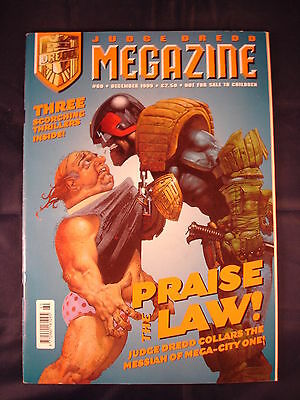 Judge Dredd Megazine - Issue 60 - December 1999