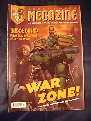 Judge Dredd Megazine - Issue 57 - September 1999