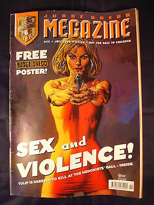 Judge Dredd Megazine - Issue 55 - July 1999