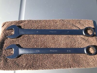 """Snap On Large Wrenches 1-7/8"""" And 2"""" OEX60A OEX64A"""