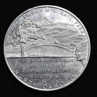 1939 New York World's Fair, North Carolina So-Called Dollar, Aluminum, Hk-494