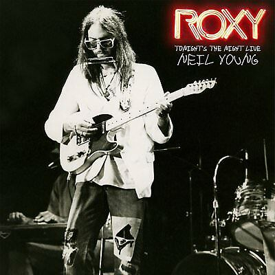 Roxy - Tonight's the Night Live by Neil Young [Vinyl]  April 24, 2018 NEW