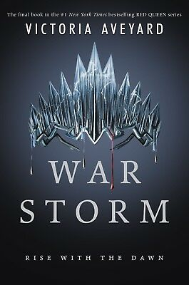 War Storm (Red Queen)  by Victoria Aveyard  Hardcover  NEW