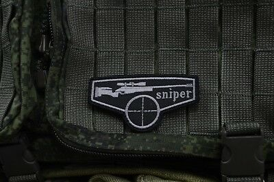 Sniper patch, Russian Tactical army morale military patch