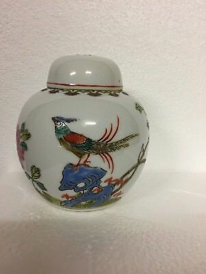Chinese Hand Painted Tea Caddy