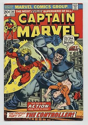 Captain Marvel #30 Early Thanos Death  Drax & Cosmic Cube Avengers:Infinity War