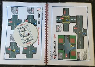 DRIVING INSTRUCTOR LESSON PLANS DIAGRAMS BOOK ADI PDI (FREE audio CD included)