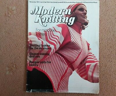 Modern Knitting..nov.1972 vol.22
