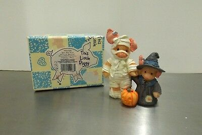 """Rare! 1995 Enesco This Little Piggy #145734 """"You Are Such a Treat, Mummy!""""  MIB"""