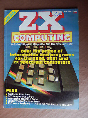 ZX Computing - Aug/Sept 1982  - vintage computer magazine
