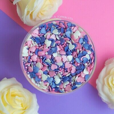 Precious Pastels Mix Sugar Sprinkles Cupcake / Cake Decorations