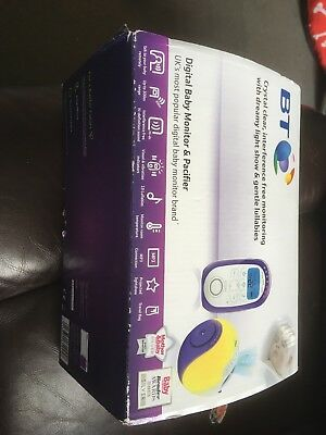 BT digital Baby monitor and pacifier baby monitor