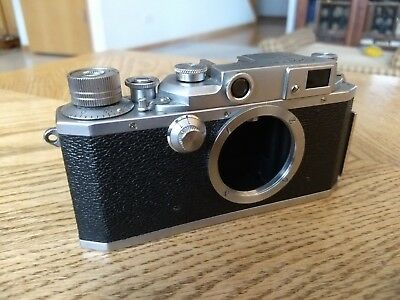 Canon II-F Rangefinder camera body Model 2F II F - 50's Vintage FOR PARTS ONLY