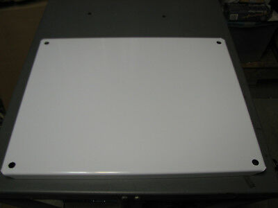 "(Lot Of 2) Wiegmann Np2420 21"" X 17"" Enclosure Panel Plate Nema 4 12 Set B"
