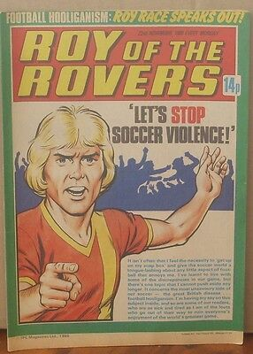 ROY OF THE ROVERS  22nd November 1980 The Hard Man MIghty Mouse Tommy's Troubles