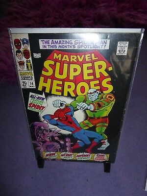 May 1968. MARVEL SUPER HEROES #14 (feat Spider-Man).