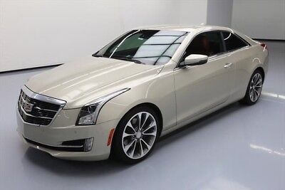 Cadillac ATS 2.0T Luxury Texas Direct Auto 2015 2.0T Luxury Used Turbo 2L I4 16V Automatic RWD Coupe Bose