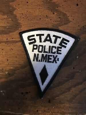 New Mexico State Police Patch (hat sized)