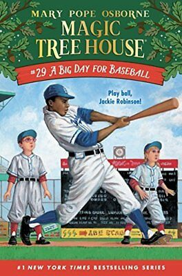 Magic Tree House R: A Big Day for Baseball 29 by Mary Pope Osborne 2017,...