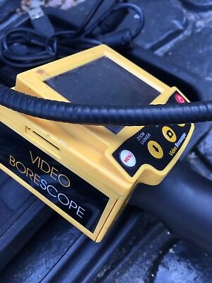 Garage Workshop Clearance Inspection Cctv Camera Video Tool Borescope Derby