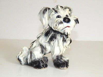 Vintage Spaghetti Dog Figurine ~ Made In Italy