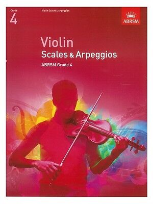 ABRSM Violin Scales and Arpeggios Grade 4 (from 2012)