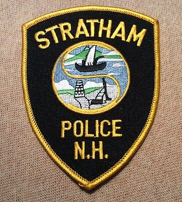 NH Stratham New Hampshire Police Patch