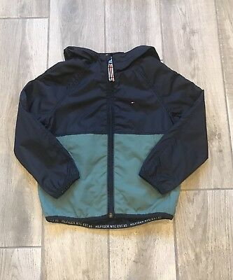 Boys Tommy Hilfiger Light Weight Jacket VGC Age 3-4