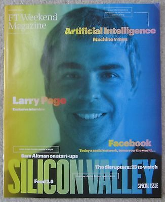 Larry Page – FT Weekend magazine – 1 November 2014