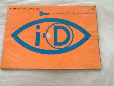 i-D magazine issue no 3, with gold flexi disc, January 1981, great condition