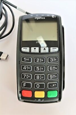 Ingenico iPP320 Credit Card Terminal POS Chip Reader Model 11T2390A USB Cord