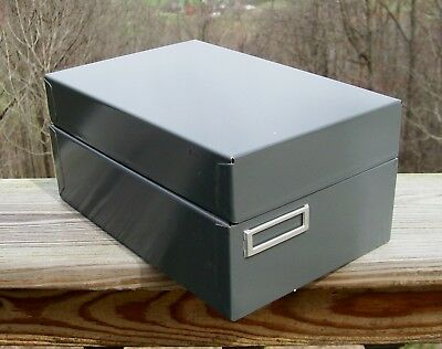 """Steelmaster Card Cabinet #935 For 3"""" X 5"""" Cards Excellent Condition! Industrial"""