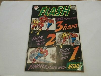*AR* DC Silver Age Flash #173 Sept 1967 Doomward Flight of the Three Flashes!