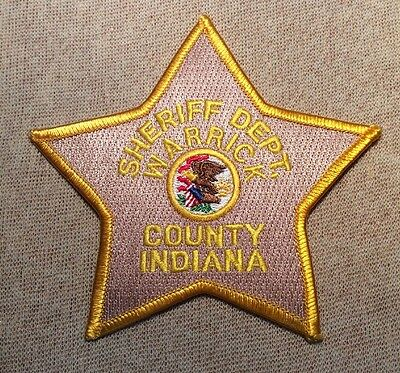 IN Warrick County Indiana Sheriff Patch
