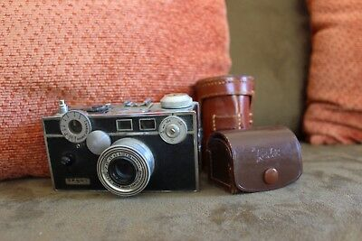 ARGUS C3 with TWO 50mm f/3.5, ONE 100mm f/4.5, and FIVE color changers