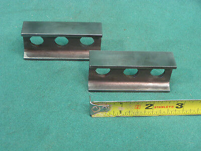 """Two Machinist Parallel Bars 2 3/4"""" X 1 1/4"""" X 3/4"""""""