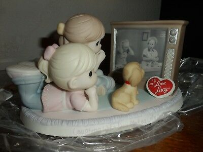 """I LOVE LUCY Precious Moments-""""Laughing With You Makes Life Sweeter""""-Numbered-WOW"""