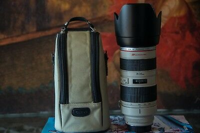 canon 70-200 2.8 (non IS)   **MINT**   Barely Used - Case Included