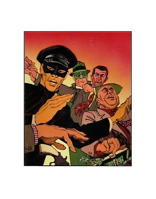 The Green Hornet and Kato 1966  style comics/ television sericel