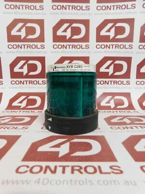 Telemecanique XVB C2B3 Illuminated (Green) Lens with Integrated LED - Used