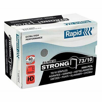 Rapid 73/10 Staples Box of 5000 40 Sheets for Rapid HD31 Stapler 0177063