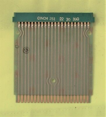 Spectral dynamics 23061h-7 44 pin extender board. May als be usable with HP