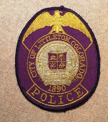 CO Littleton Colorado Police Patch