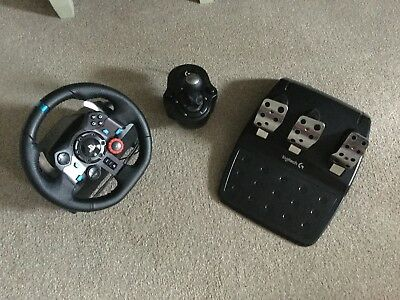 LOGITECH G29 RACING Wheel with H-Shifter and Pedals (PC/PS4)