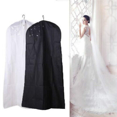Wedding Dress Bridal Gown Garment Dustproof Breathable Cover Storage Bag 2 Size