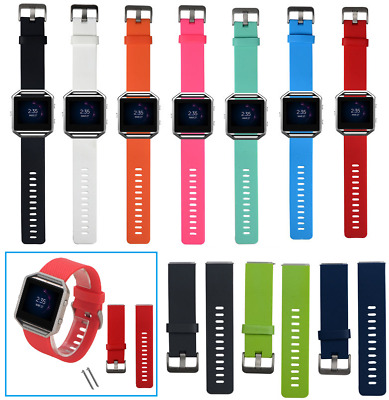 New Quality Silicone Bracelet For Fitbit Blaze - Multicolour Replace Watch Strap