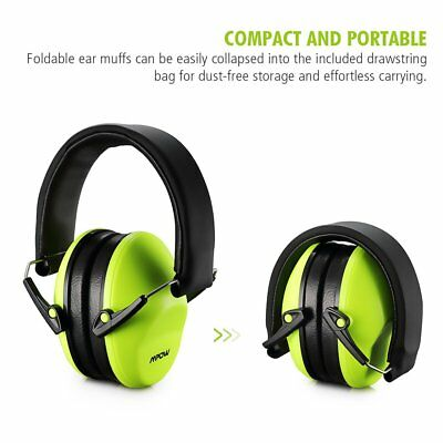 Mpow 25dB Kids/Childrens Junior Folding Ear Muffs Defenders Protectors