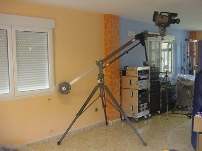 Mini Jib JB30 LIBEC,con trolly